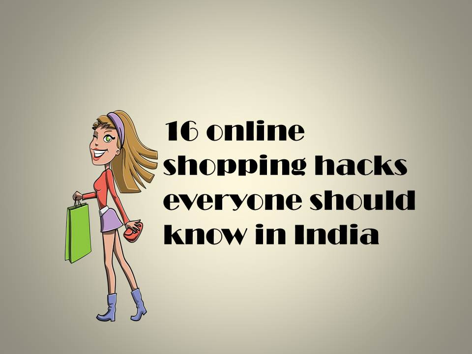 tricks and hacks to shop online