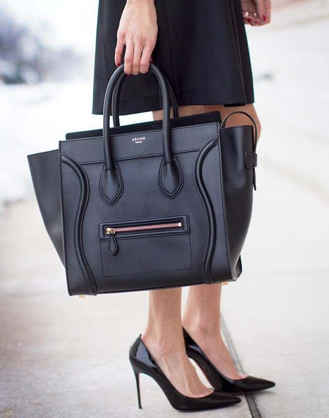A classic hand bag that goes with any outfit is a must have for every woman