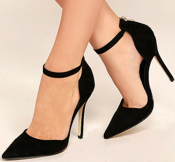 Own a good quality pair of black heels