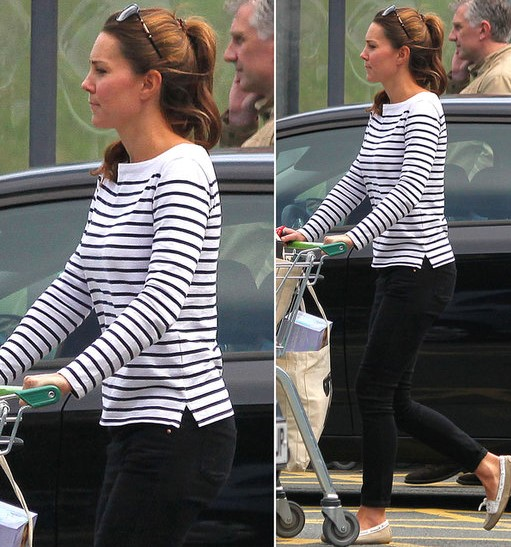 Breton Stripes Kate Middleton wardrobe essential