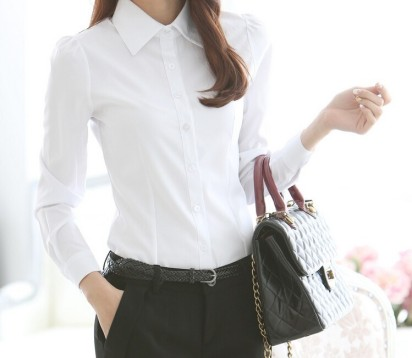 Must have wardrobe item white shirt