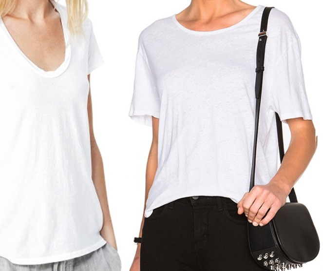 BASIC white T shirts to build a classic wardrobe